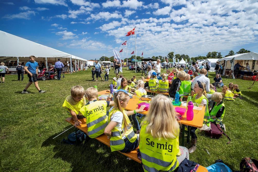 børn på Horsens dyrskue og madmarked